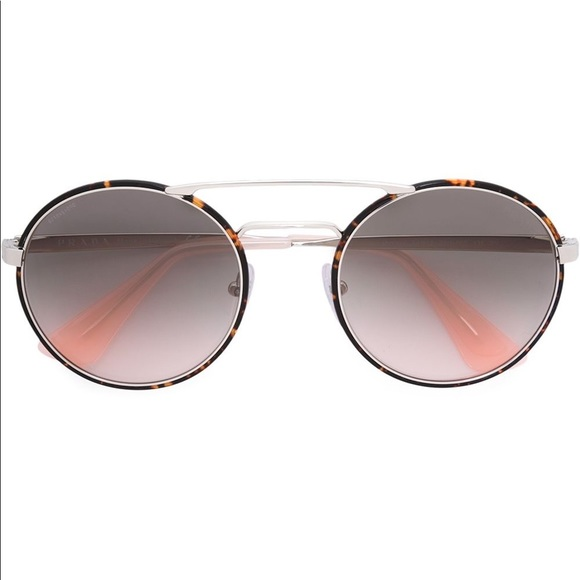 40e1410ec24 Prada cinema 54mm round sunglasses. M 5a9208318df470c0a2e5066d